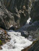 Река Акташ в каньоне.