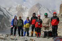 Группа на перевале Акташ.
