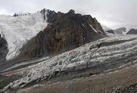 Ледник Дугоба. Ледопад.