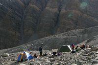Лагерь на Дугобе Южной.