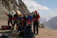 Группа на перевале Дальний.