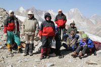 Группа на перевале Караказык.